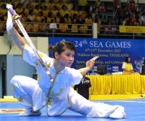 Regras para competição internacional de Wushu Taolu (IWUF)